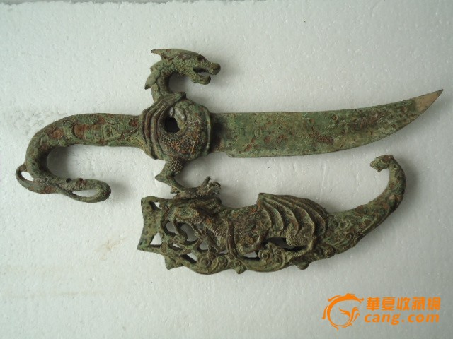 雕龙青铜摆件