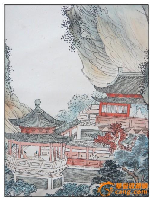 溥心畲=风景人物画