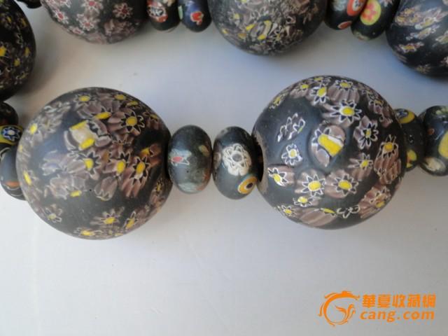古董杂项汉代出土琉璃珠子