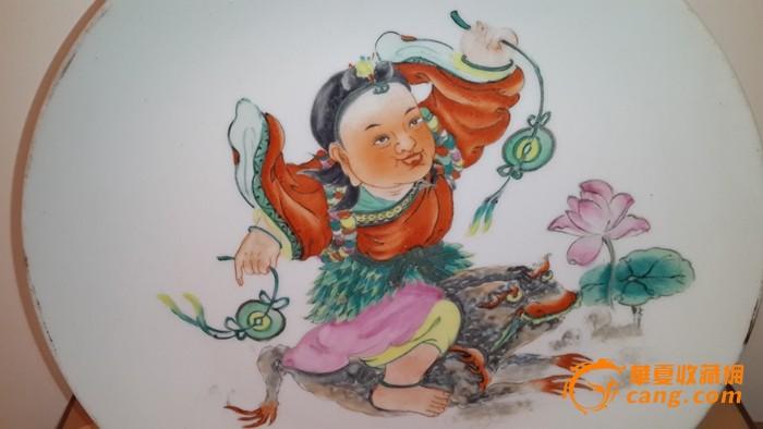 手绘盘子人物图片
