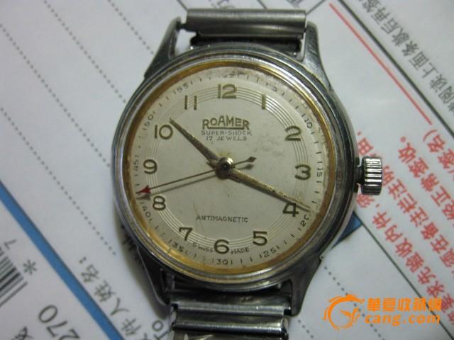 罗马/老罗马男士手表一只。表径34毫米.图3