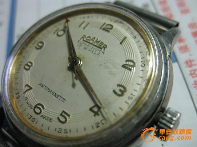 罗马/老罗马男士手表一只。表径34毫米.图8
