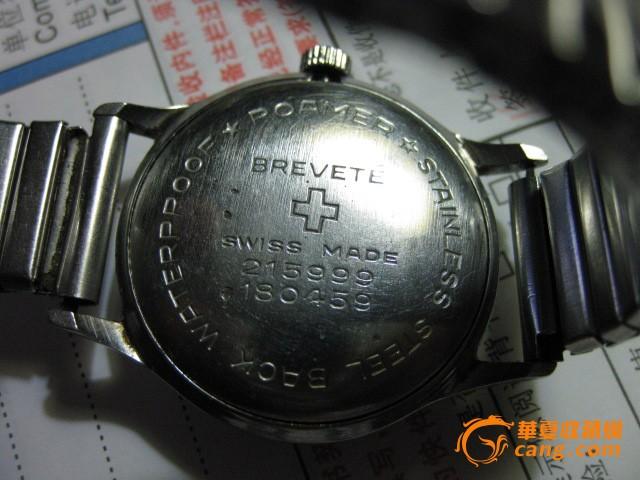 罗马/老罗马男士手表一只。表径34毫米.图10