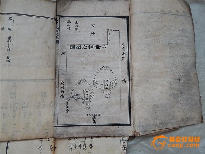 李氏族谱3本图片