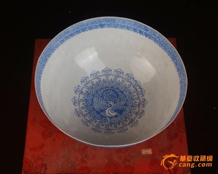 景德镇陶瓷/文革瓷器/全手工彩绘山水风景薄胎碗(薄如