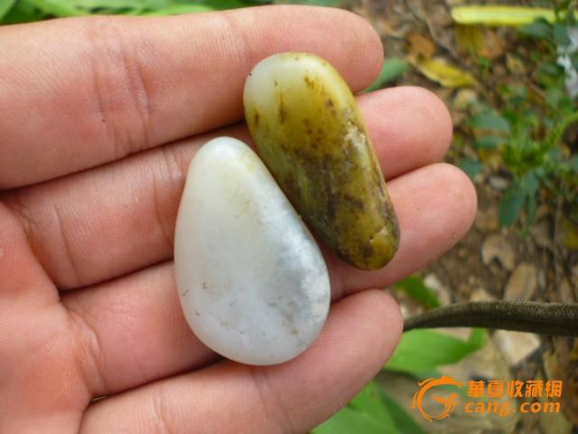 和田玉 籽料 处理 原石 保真/和田玉籽料原石保真处理图2