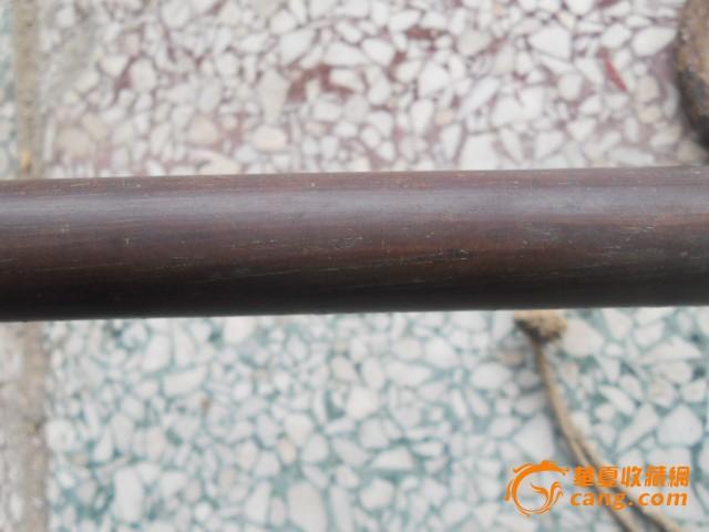 木质细的清代红木秤杆