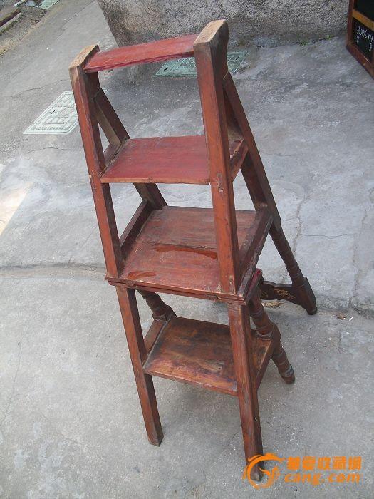 家具中的变形*,可以变梯子的椅子哦
