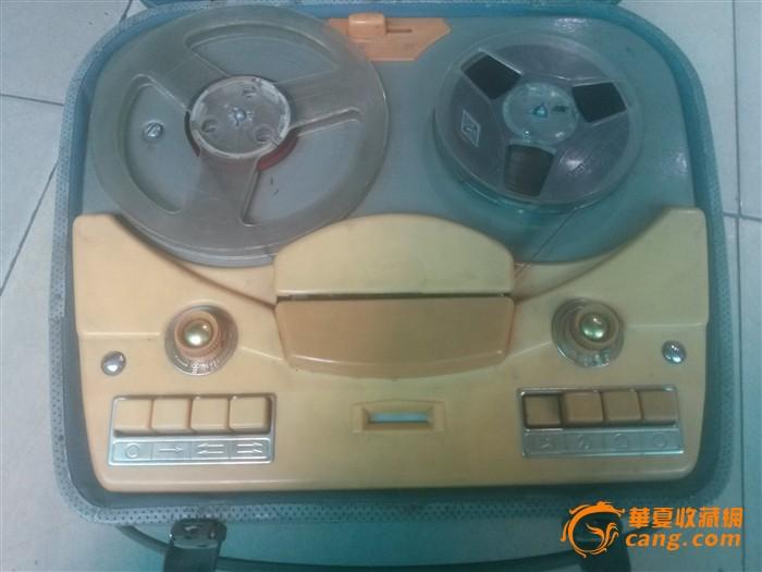 上海l-601a电子管开盘式录音机老式录音机