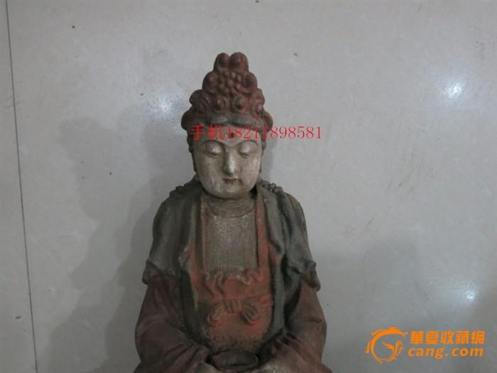 老香樟木佛像