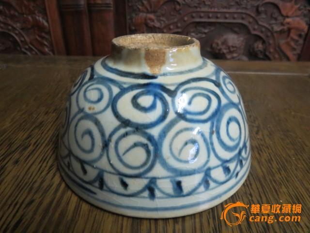 清代民窑青花碗 清代民窑青花碗价格 清代民窑青花碗图片 来自藏友女
