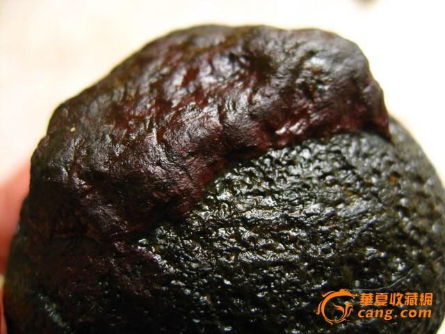 谷战国/上谷战国红玛瑙原石动植物化石118克木化玉石和田玉籽料奇石图2