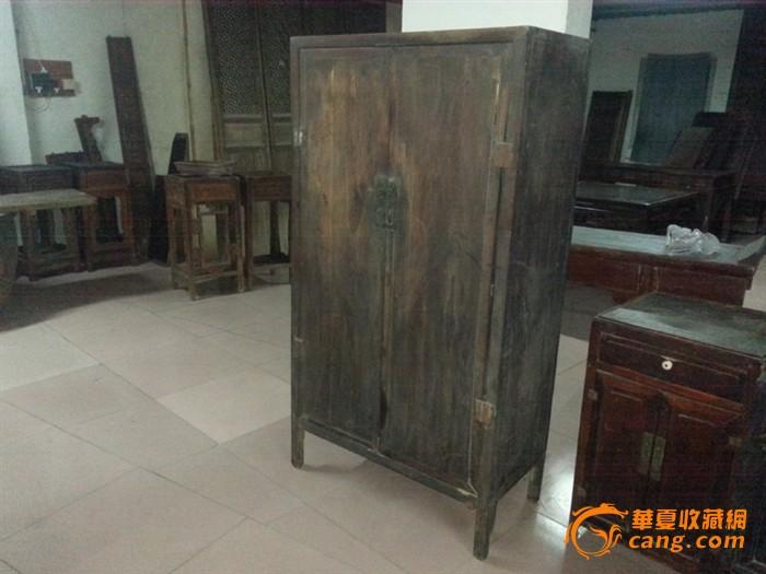 【江啸堂】藏品 古玩 清代明式楠木老书柜1只 老柜子图片