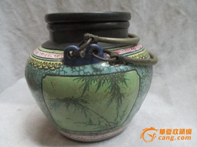 珐琅彩瓷紫砂壶