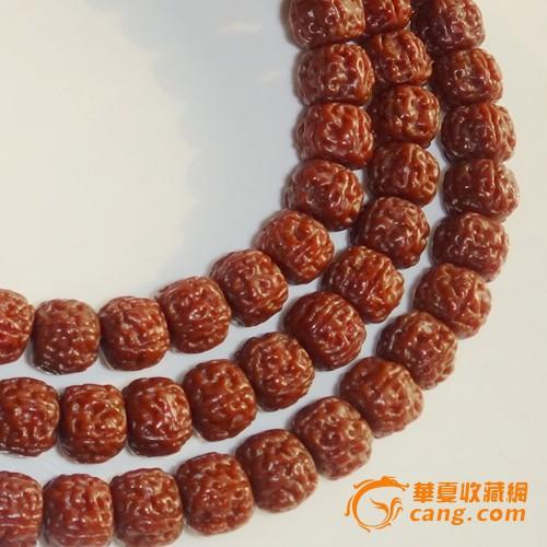 极品一代盘龙纹小金刚菩提子108颗佛珠手串直径0.95