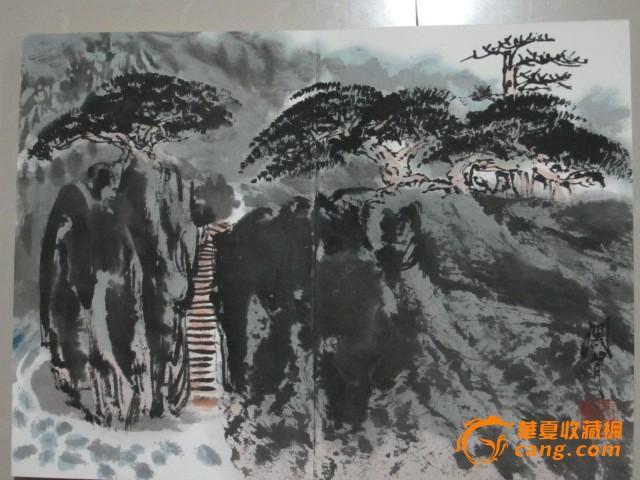 地摊 字画 近现代 关山月册页  编号 jy8757354 上传图片
