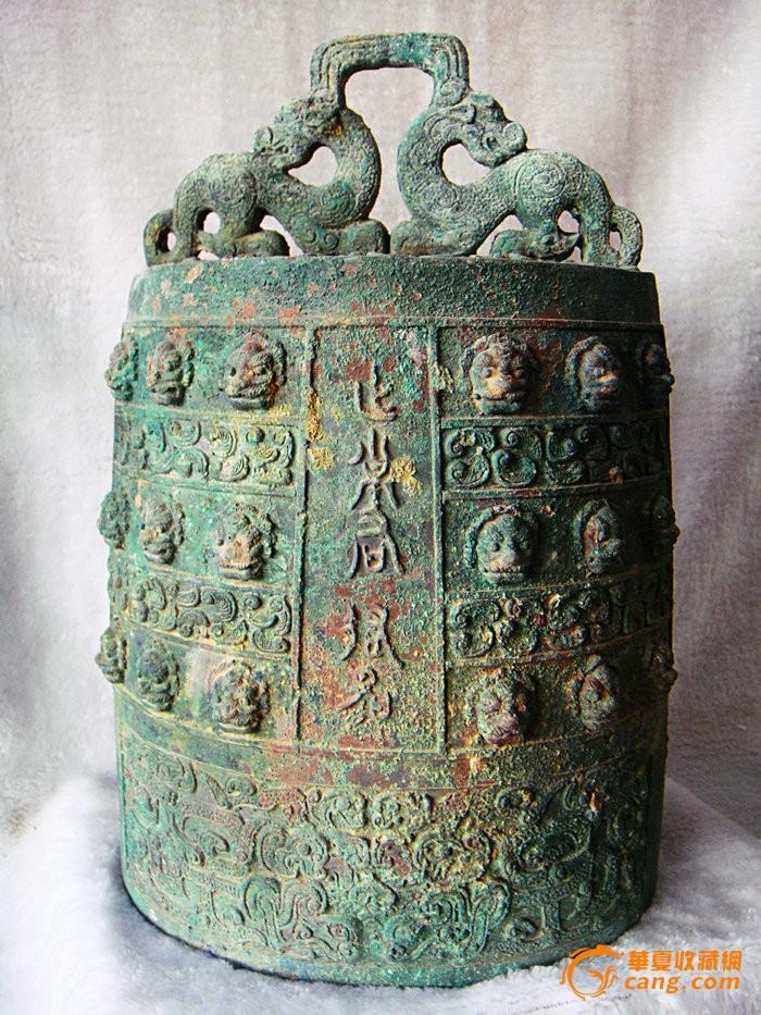 出土商代青铜器铭文编钟