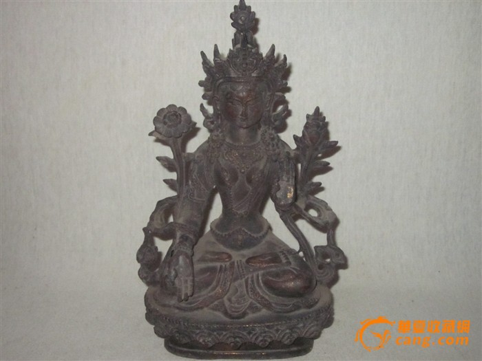 民国铜佛像