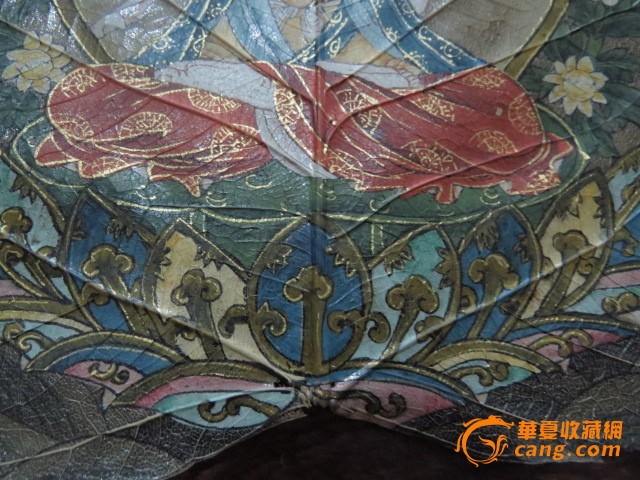张大千菩提树叶画图11