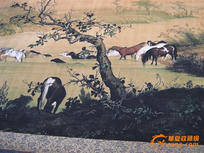 高端书画推介--百骏图、中国古代名画洛神赋图图2