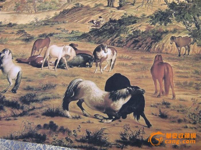 高端书画推介--百骏图、中国古代名画洛神赋图图4