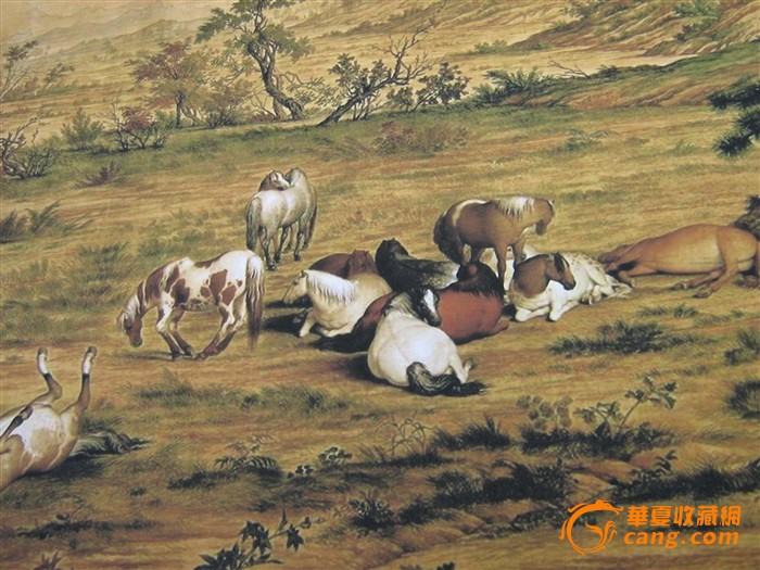 高端书画推介--百骏图、中国古代名画洛神赋图图3