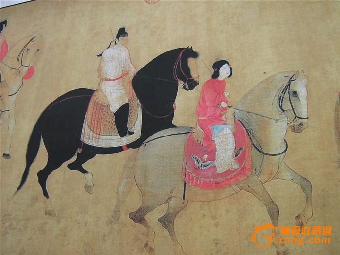 高端书画推介--百骏图、中国古代名画洛神赋图图9