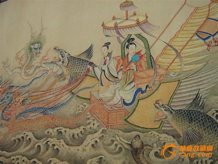 高端书画推介--百骏图、中国古代名画洛神赋图图12