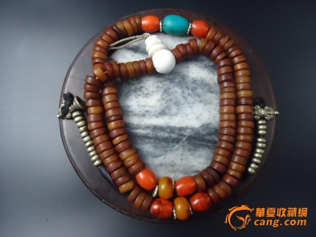 民国藏传嘎巴拉108子