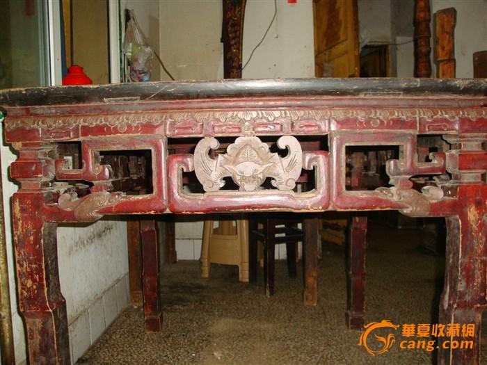 老木雕花桌子_老木雕花桌子价格_老木雕花桌子图片_藏