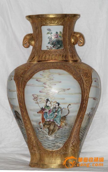 赏瓶_赏瓶价格_赏瓶图片_来自藏友明清瓷器家_陶瓷