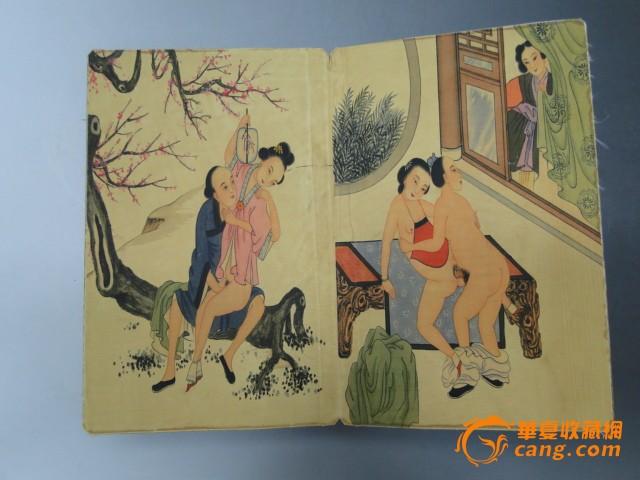 清代名人书画工笔人物册页图片
