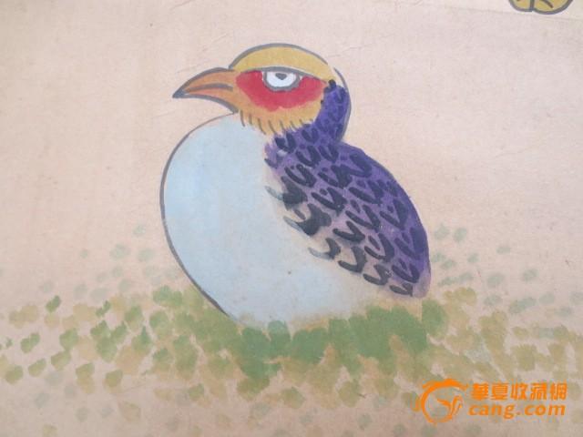 朝鲜民族花鸟画图片