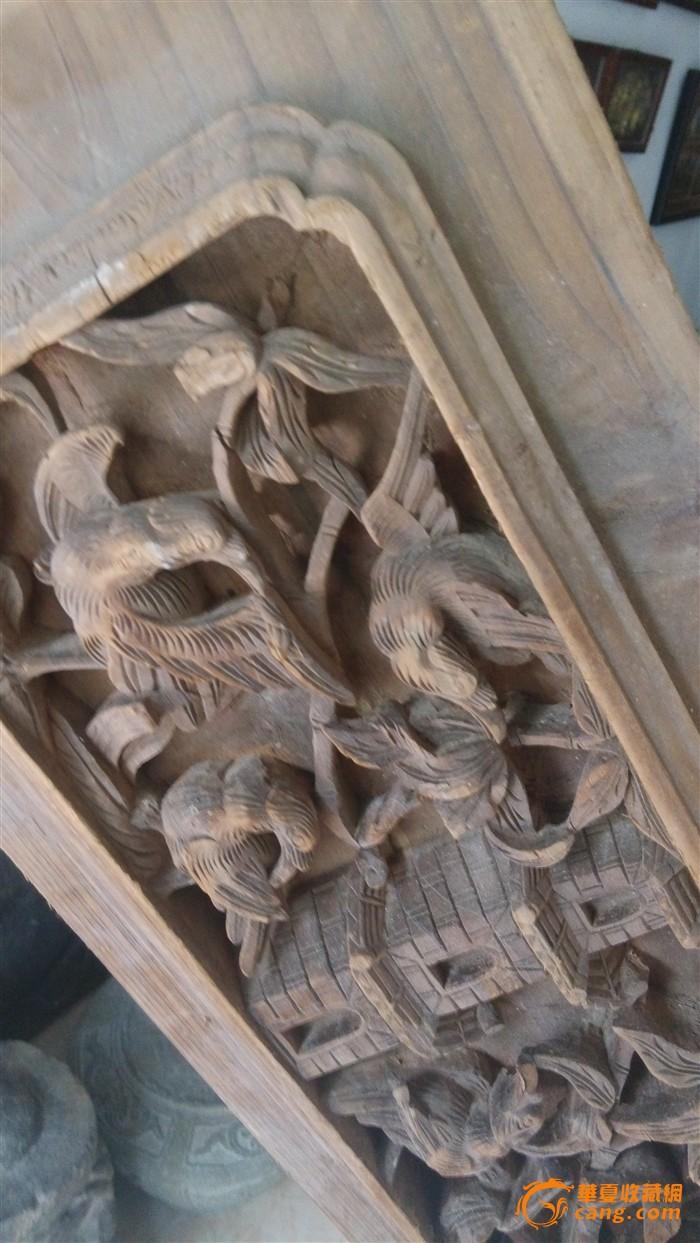 精美深浮雕宝塔花板木雕雕版