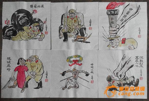 幼儿抗战题材画_抗战题材儿童画抗战小英雄儿童画