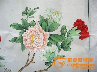 工笔花卉2幅图片