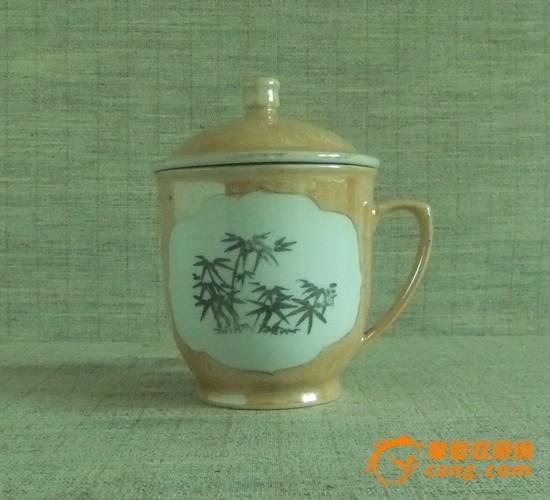 景德镇人民瓷厂 墨竹茶杯