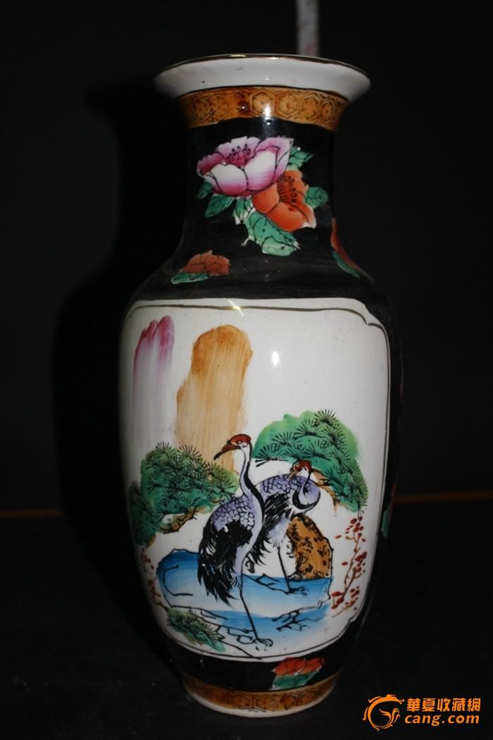 全手绘花瓶图1