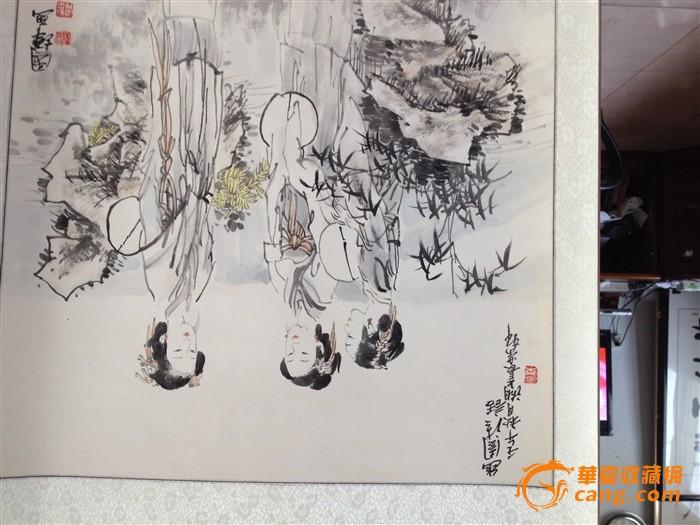 刘国辉古代美女人物画