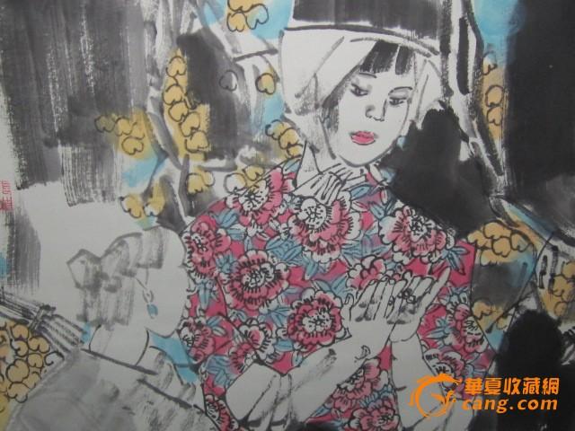 张道兴人物画图4