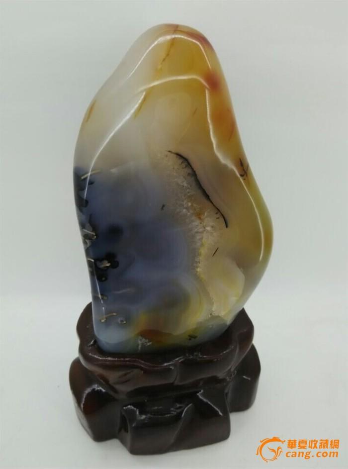 水草玛瑙原石摆件 奇石精品 低价