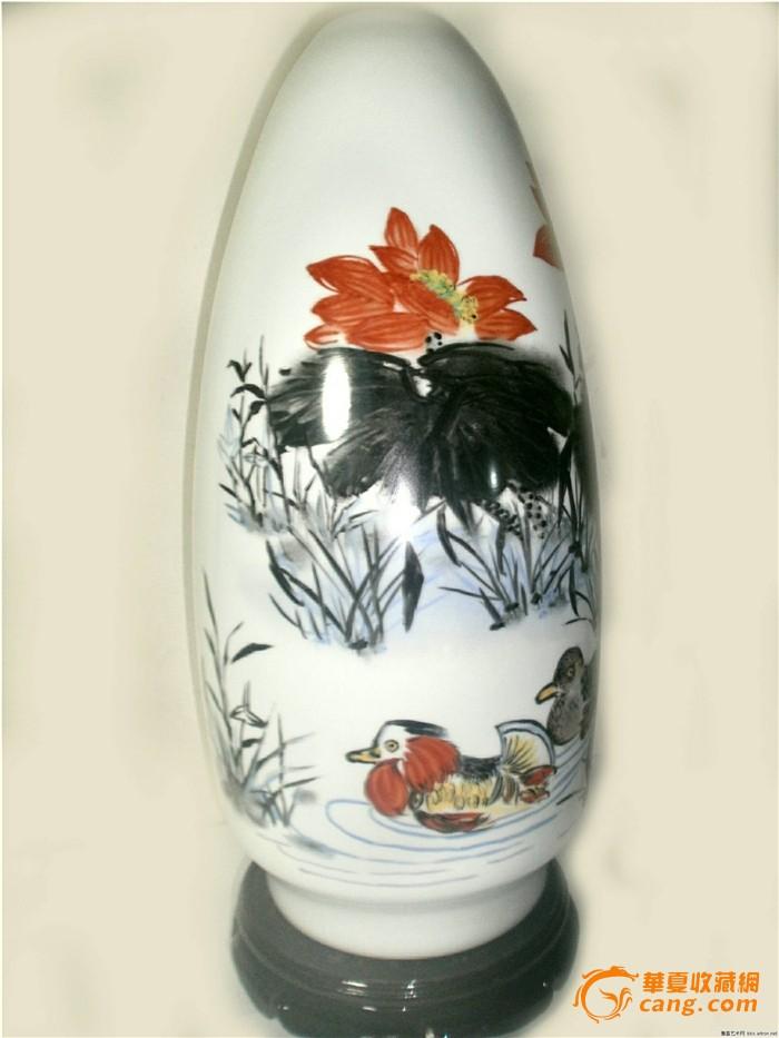 中国陶瓷艺术设计大师邬书远手绘作品----长相伴