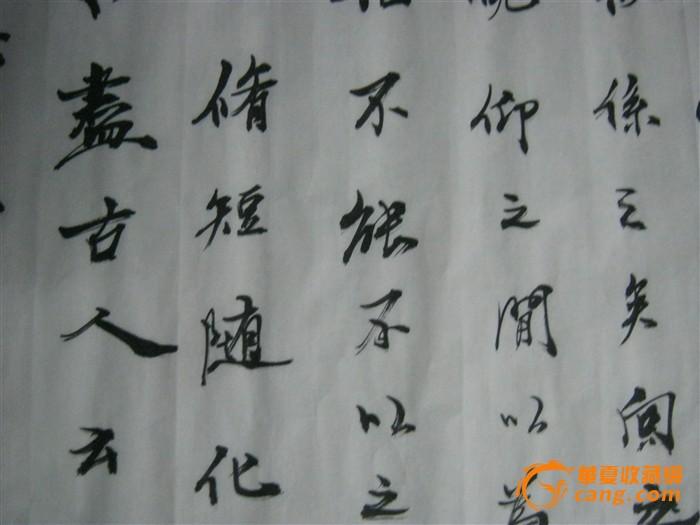 中国书法名家郭新稳作品---临兰亭序图8