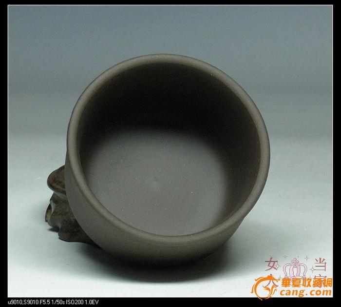 【早期紫砂一厂】原汁原味老泥老紫砂 口杯 咖啡杯