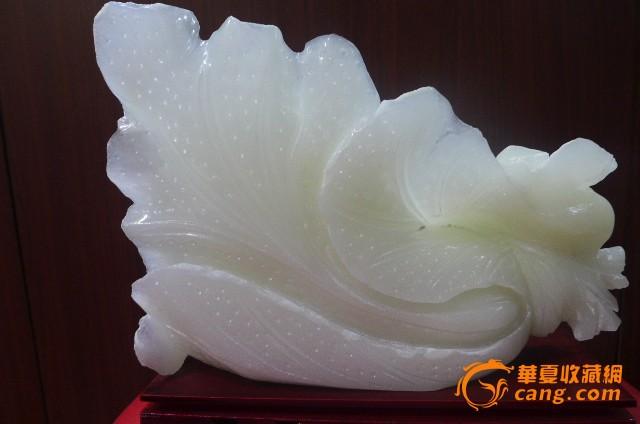 大理石雕刻白菜