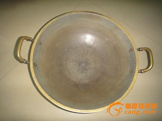 铜锅黑白手绘图