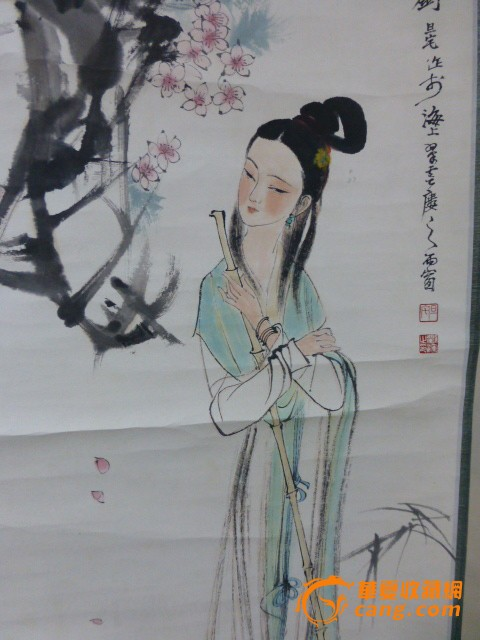 刘旦宅【黛玉葬花】作品
