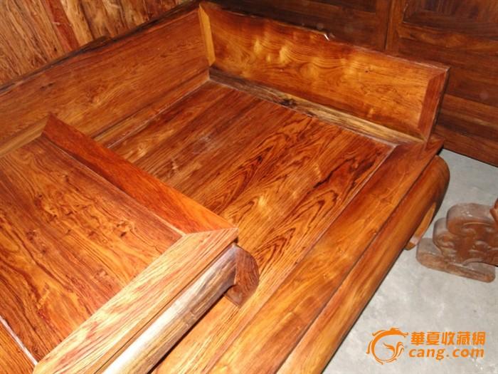 古典家具 花纹一流 独板罗汉床