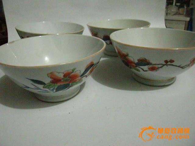 景德镇窑手绘瓷碗