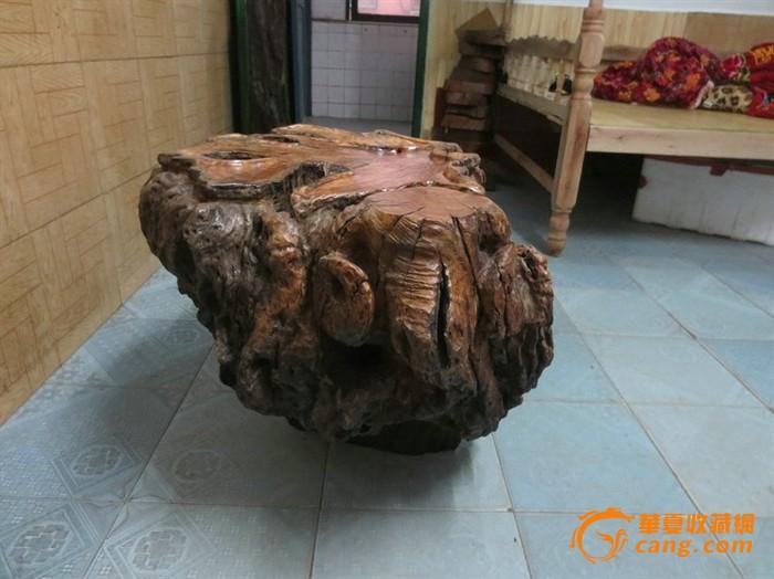 乌木天然 香木天然树瘤整体无拼接 小茶几 树瘤 有香气